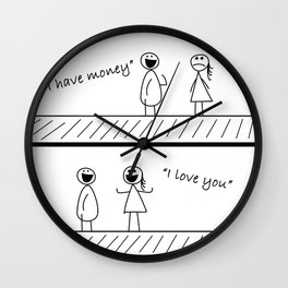 It's all about Money Wall Clock