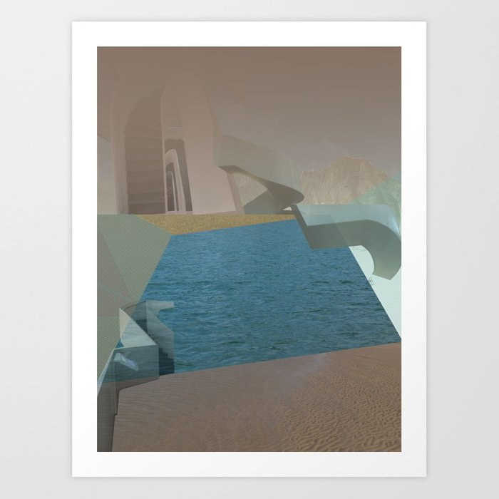 atmosphere 25 · Goat Willow Art Print