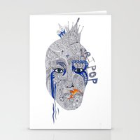 popart Stationery Cards featuring PopArt by Ina Spasova puzzle