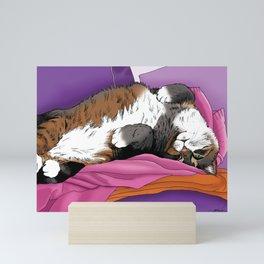 Sweater Cat Mini Art Print