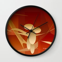Woman and Passion Wall Clock