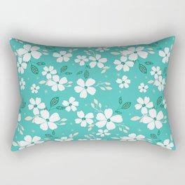 Torque Floral Rectangular Pillow