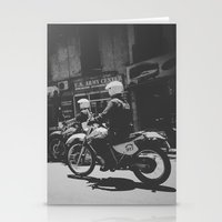 police Stationery Cards featuring Montevideo Police by gatodeplanetearth