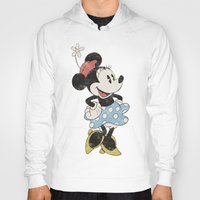 minnie Hoodies featuring Minnie Mouse by Adel