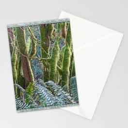 YOUNG RAINFOREST MAPLES Stationery Cards