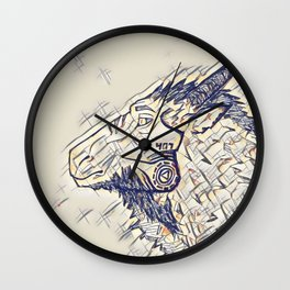 The Beast 407 Wall Clock