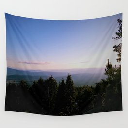 Cascade Mountain View Wall Tapestry