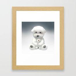 Cuddle Time Framed Art Print