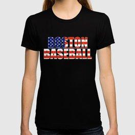 Baseball USA Blue and Red T-shirt