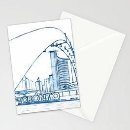 BluePrints | City Hall - Toronto Stationery Cards