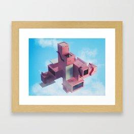Multidirectional Framed Art Print