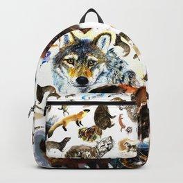Animal pattern Backpack