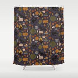 Autumn Nights Shower Curtain