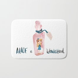 alice in wonderland Bath Mat