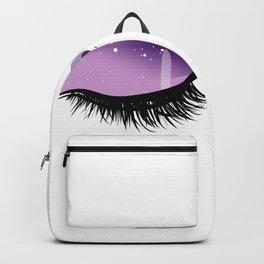 Womens Eyes Backpack