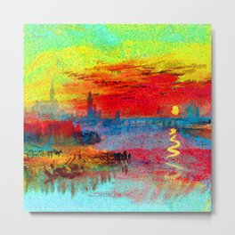 William Turner Scarlet Sunset Metal Print