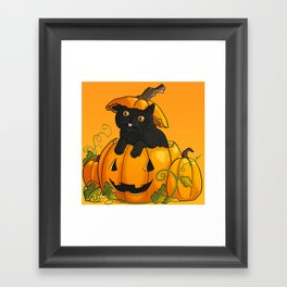 Halloween 2015 - Barnabas Framed Art Print