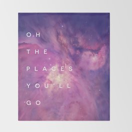 The Places You'll Go II Throw Blanket