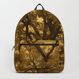 Autumn Massive Tree Yellow Backpack