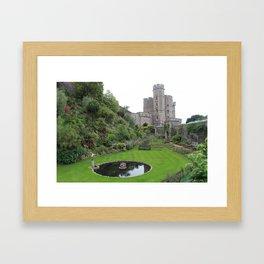 Secret Garden in Windsor Framed Art Print