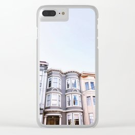 San Francisco Victorians Clear iPhone Case