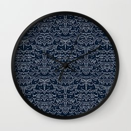 Wave of Cats Wall Clock