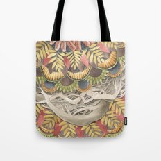 Quilted Forest: The Raccoon Tote Bag