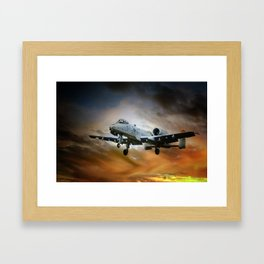 A10 Thunderbolt II Framed Art Print