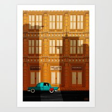 Hey Superhero!! Art Print