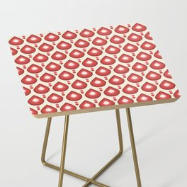 Drops Retro Pink Side Table