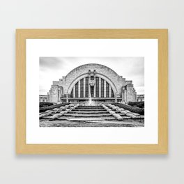 Union Terminal Framed Art Print