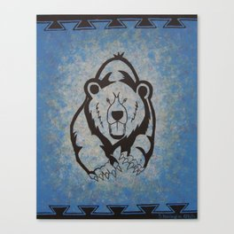 Bear Power 2 Canvas Print