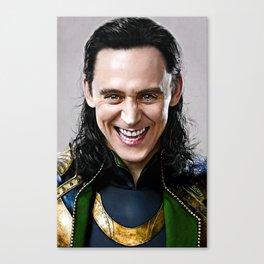 Loki -There Are No Men Like Me XVI Canvas Print