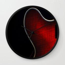 Semi Acoustic Study Wall Clock