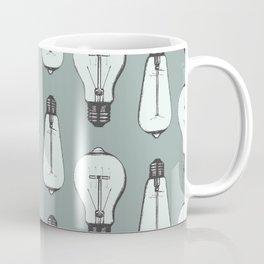 Lightbulb Moment in Aqua Coffee Mug