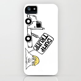 Dump Trump iPhone Case