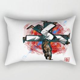 Capoeira 540 Rectangular Pillow