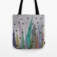 grass Tote Bags featuring Grass by Olivia James