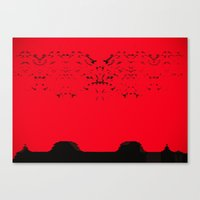 arrakis Canvas Prints featuring High Noon on Arrakis by Keen Must Die