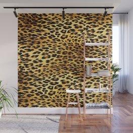 Leopard Skin Camouflage Pattern Wall Mural