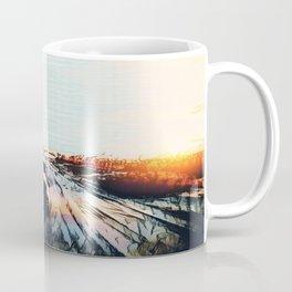 Evaporating Saguaro Sunset Coffee Mug
