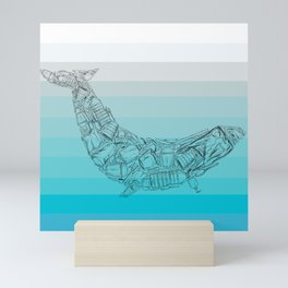 Plastic Whale Mini Art Print