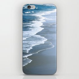 Rogue Beach With Dramatic Waves iPhone Skin