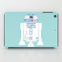 r2d2 iPad Cases featuring #92 R2D2 by MNML Thing
