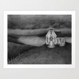 Hill House Art Print