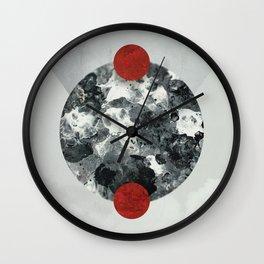 Negatives II Wall Clock
