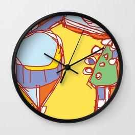 Instrument Wall Clock