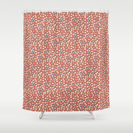 Sweet Confetti  Shower Curtain