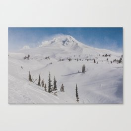 Snowy Mount Hood Canvas Print