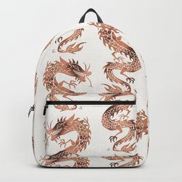 Chinese Dragon – Rose Gold Palette Backpack